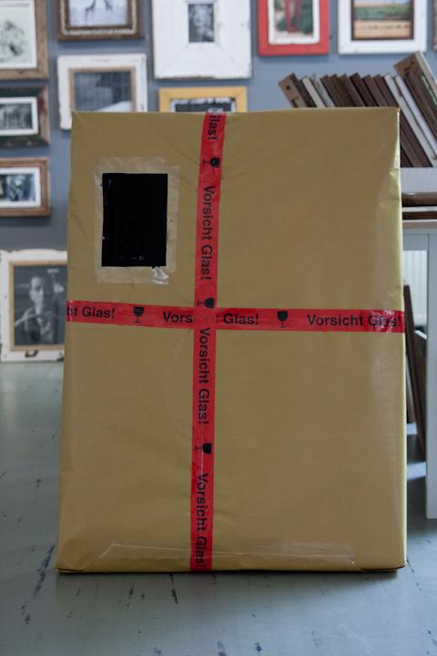 Große Holzbilderrahmen im Paket