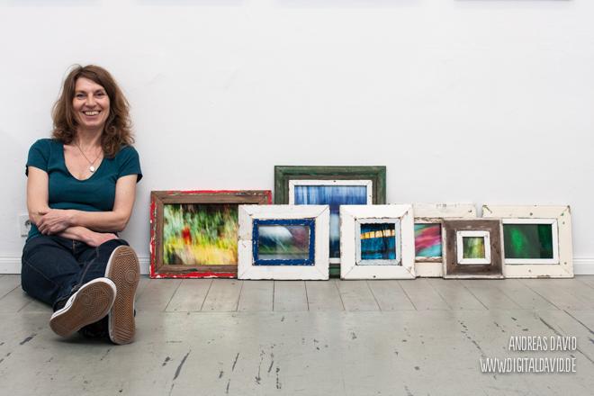 Corinna Noack mit Luxad Bilderrahmen