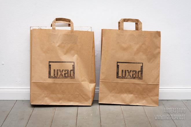 Luxad's neue Einkaufstüten