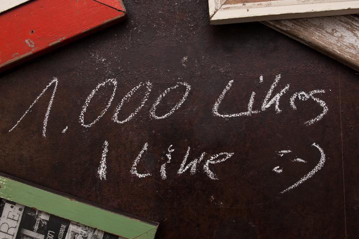 1000 likes - I like!